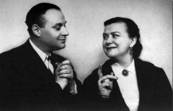 Менакер  и Миронова