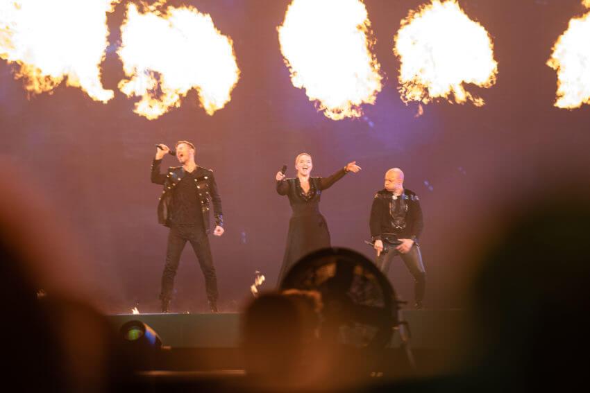 Выступление на «Евровидении»