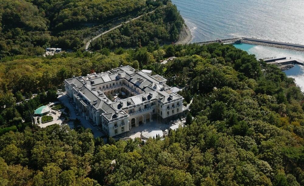 Предполагаемый «дворец Путина»