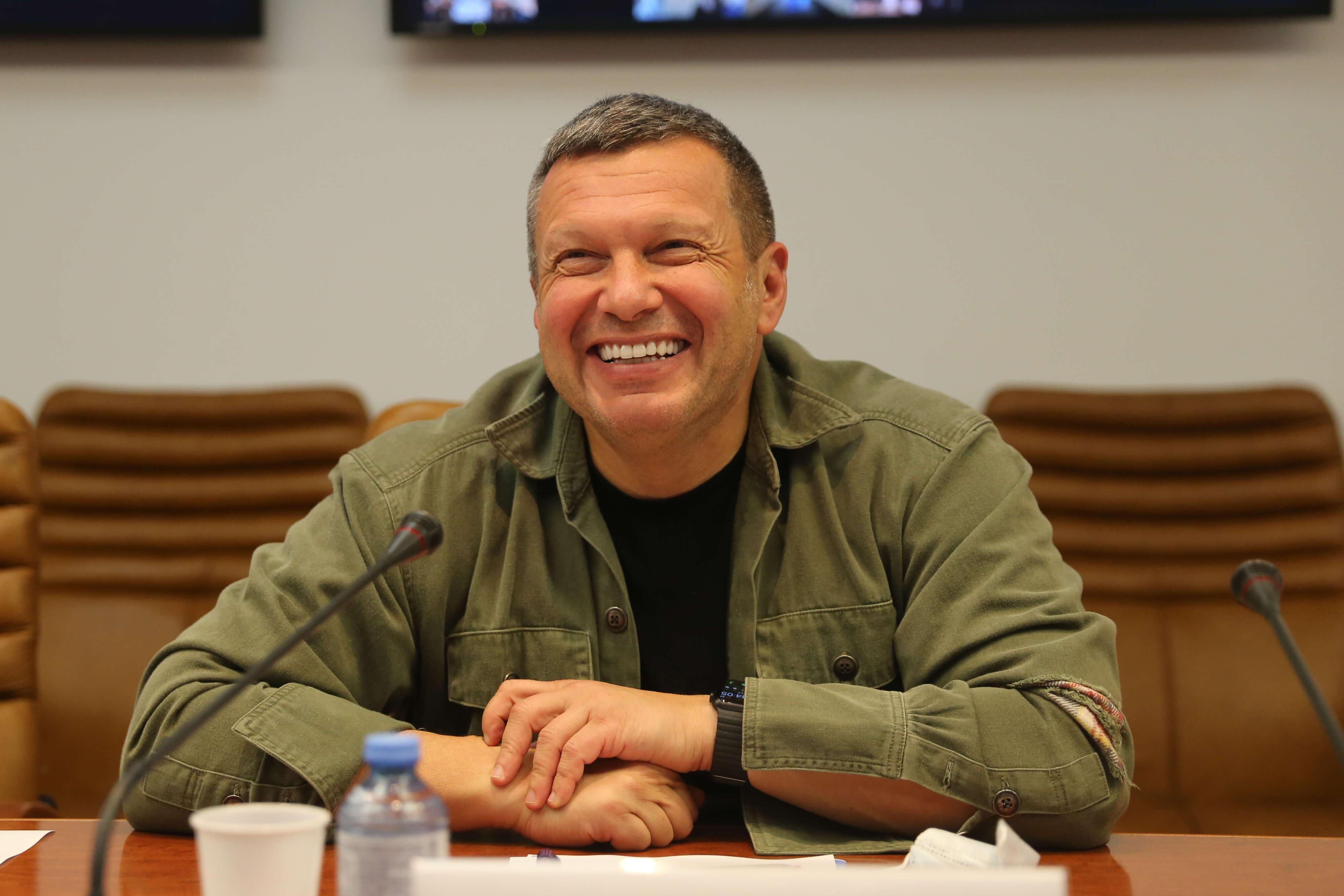 Российский телеканал показал пародию на Соловьева и потом ее удалил