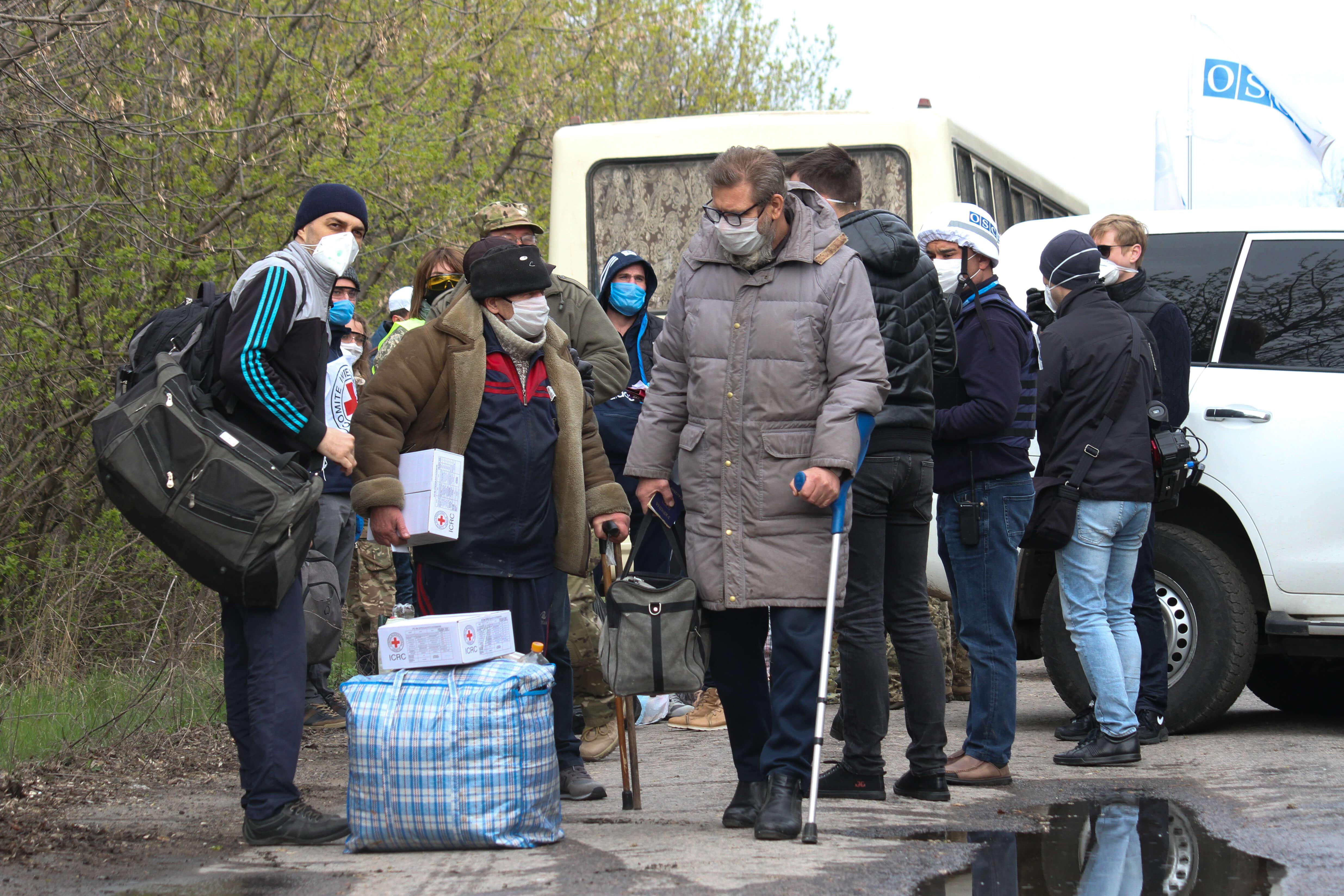 Коронавирус: большинство регионов Украины перешли в «красную зону»
