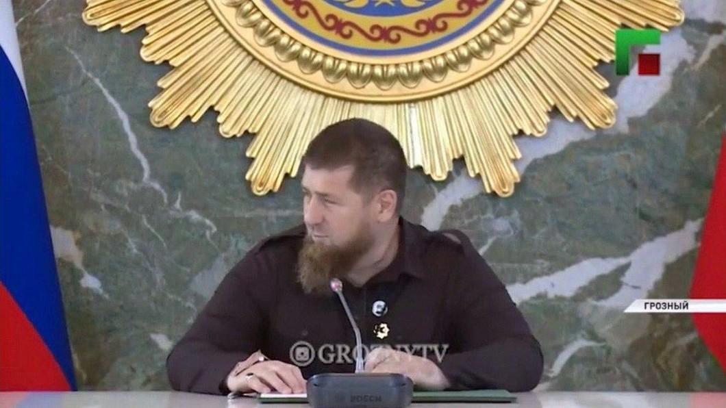 Рамзан Кадыров на совещании 26 мая