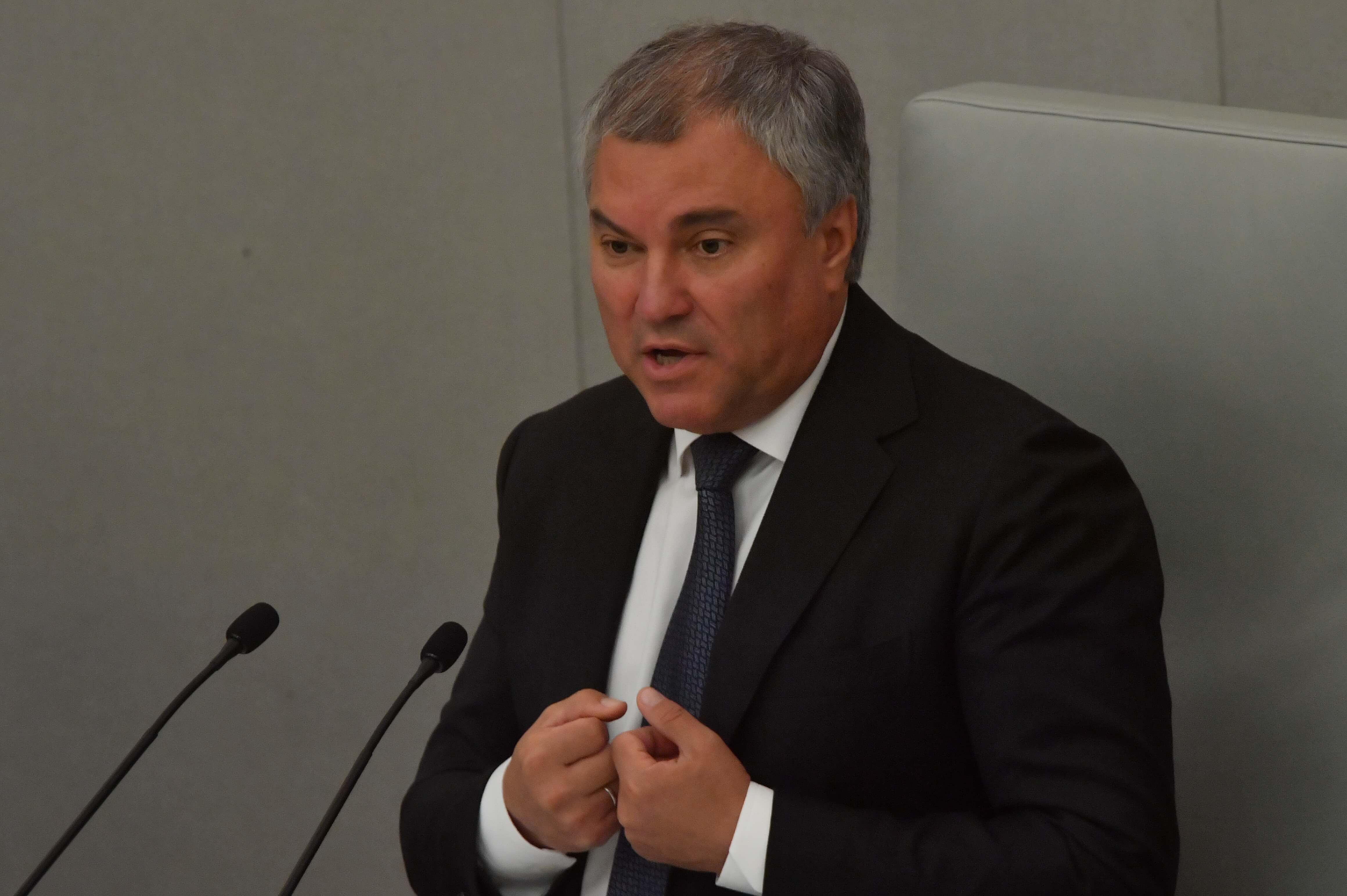Володин предложил юридически фиксировать обещания депутатов
