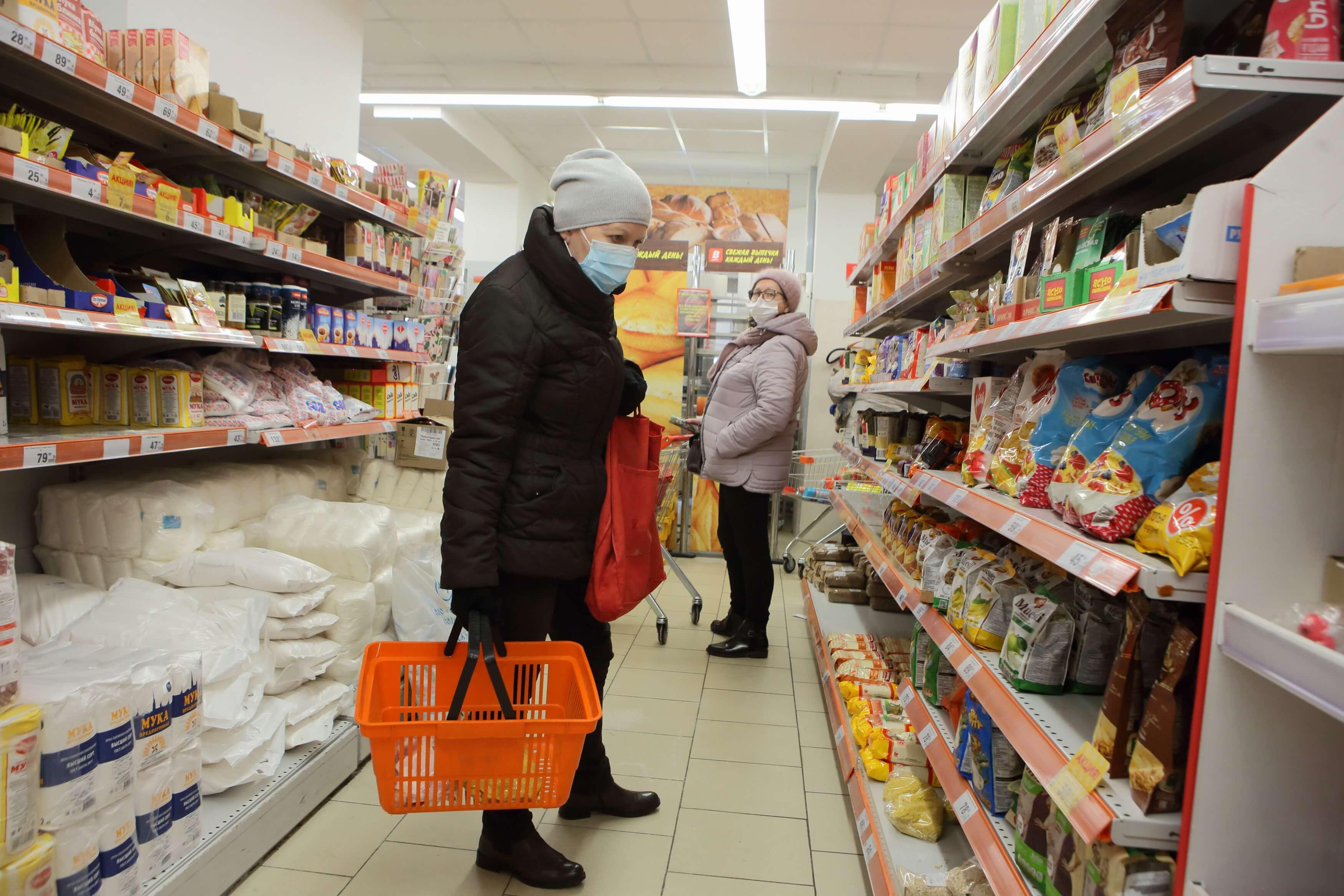 Россию включили в список «горячих точек» с точки зрения роста цен на продукты