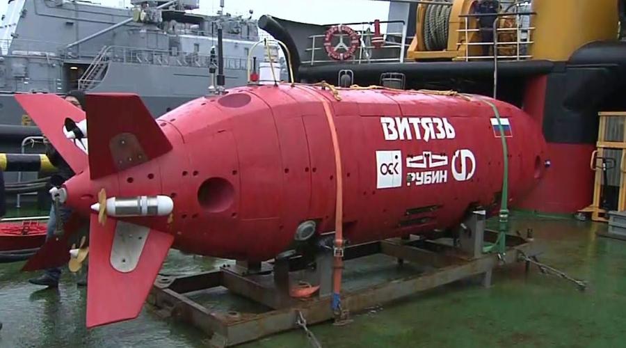 """Подводный аппарат """"Витязь-Д"""""""