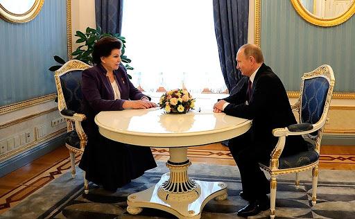 Встреча с Валентиной Терешковой