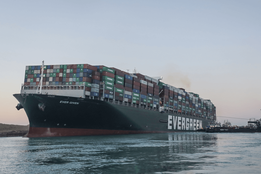 Suez Canal Authority/dpa/globallookpress