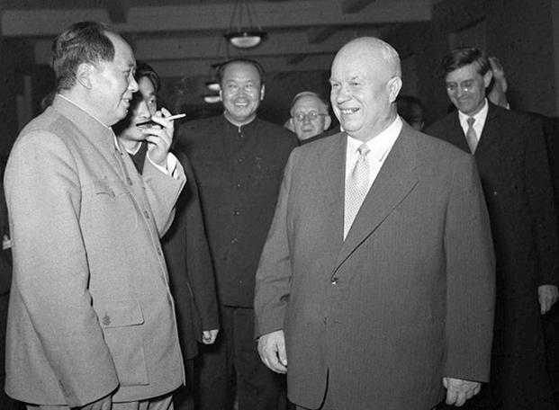 Мао и Хрущёв
