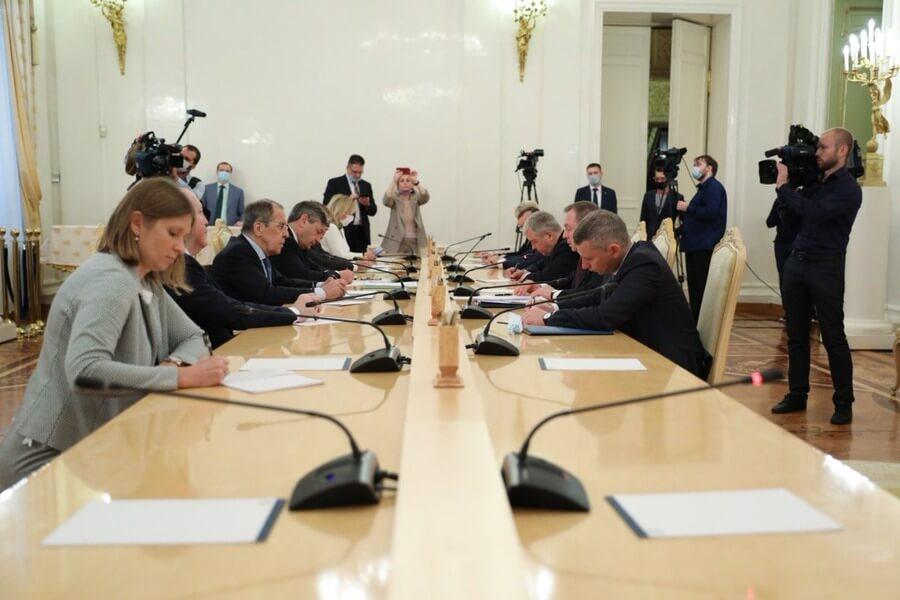 Встреча глав МИД России и Беларуси