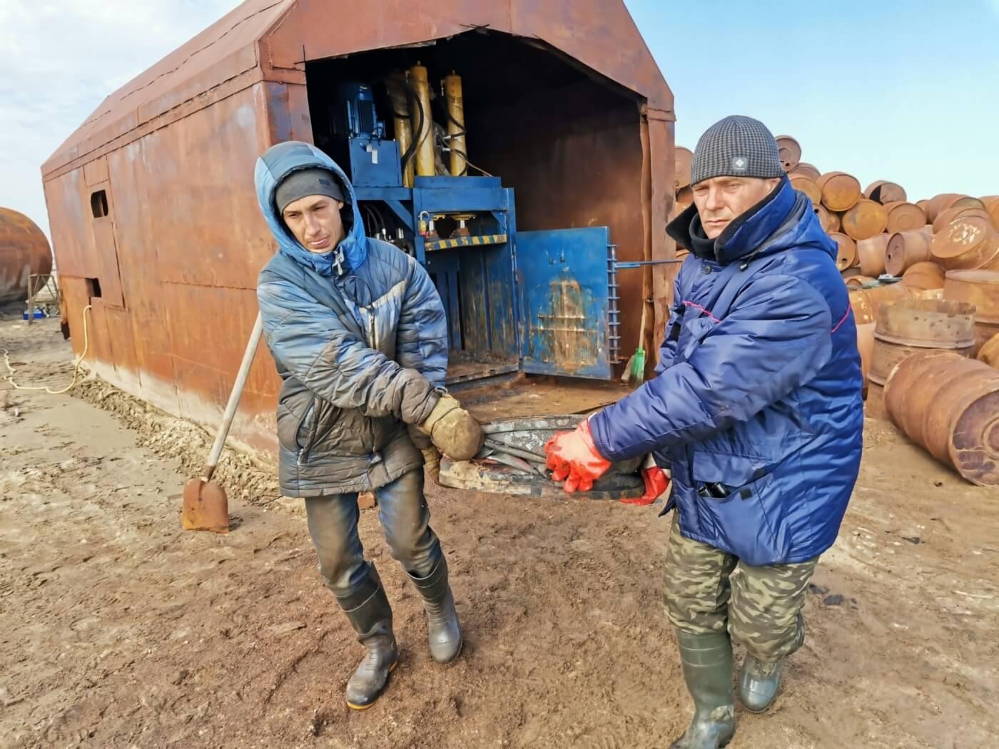Очистка арктического острова Вилькицкого